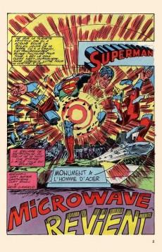Extrait de Superman Géant (Sagédition - 2e série) -3- Microwave revient