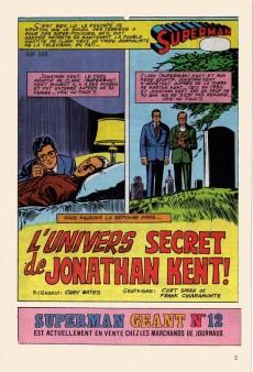 Extrait de Superman (Poche) (Sagédition) -45- L'univers secret de Jonathan Kent