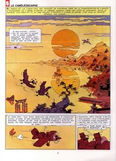 Extrait de Taka Takata -6- Le Caméléoscaphe