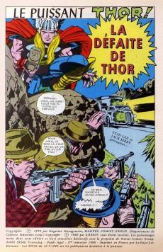 Extrait de Thor le fils d'Odin -8- La défaite de Thor