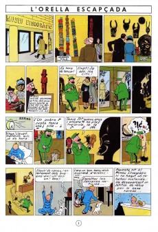 Extrait de Tintin (en langues régionales) -6Catalan- L'orella escapçada