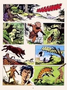 Extrait de Tounga (Brochée) -7- Le peuple des arbres
