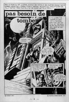 Extrait de Vengeur (2e Série - Arédit - Comics Pocket) -10- Pas besoin de tombe