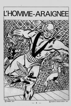 Extrait de Vengeur (2e Série - Arédit - Comics Pocket) -7- L'homme araignée