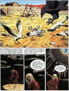 Extrait de Les aigles décapitées -13- La Princesse Mordrie