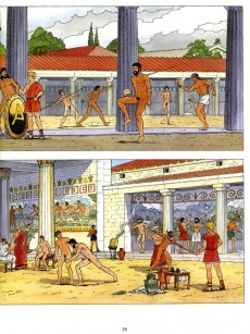 Extrait de Alix (Les Voyages d') -20- Les Jeux Olympiques