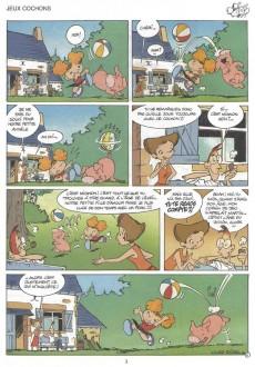 Extrait de Angèle & René -1- Copains comme cochons