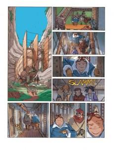 Extrait de L'anneau des 7 mondes -3- Les pirates d'Héliopolis