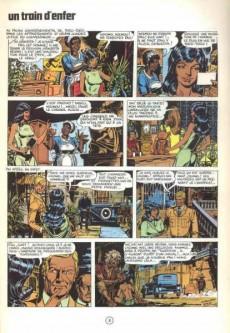 Extrait de Archie Cash -4- Un train d'enfer