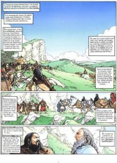 Extrait de Arthur (Chauvel/Lereculey) -1- Myrddin le fou