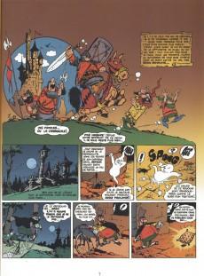 Extrait de Arthur le fantôme justicier (Cézard, divers éditeurs) -8(3)- Le seigneur de Malpartout