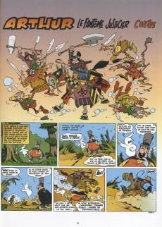 Extrait de Arthur le fantôme justicier (Cézard, divers éditeurs) -9(4)- Arthur contre l'insaisissable Prince noir