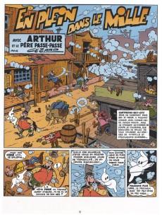 Extrait de Arthur le fantôme justicier (Cézard, divers éditeurs) -10(5)- Arthur et le père Passe-Passe, magicien diplômé, au Texas