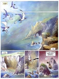 Extrait de L'auberge du bout du monde -1- La fille sur la falaise