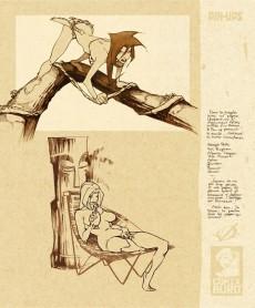 Extrait de (AUT) Vatine - Sketchbook Vatine