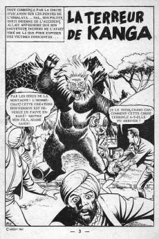 Extrait de Aventures fiction (2e série) -6- La terreur de Kanga