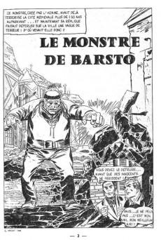 Extrait de Aventures fiction (2e série) -7- Le monstre de Barsto