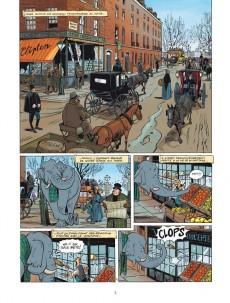 Extrait de Baker Street (Veys/Barral) -5- Le Cheval qui murmurait à l'oreille de Sherlock Holmes