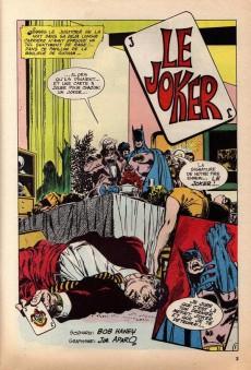 Extrait de Batman Bimestriel (Sagédition) -2- Le joker