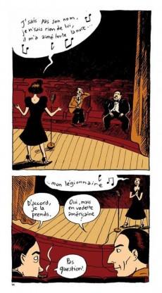 Extrait de BD Chanson -1- Edith Piaf