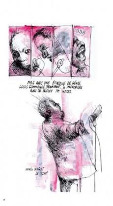 Extrait de BD Jazz - Louis Armstrong