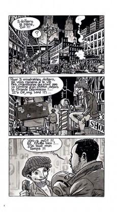 Extrait de BD Jazz - Charlie Parker