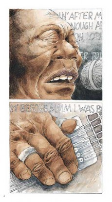 Extrait de BD Blues -5- Muddy Waters