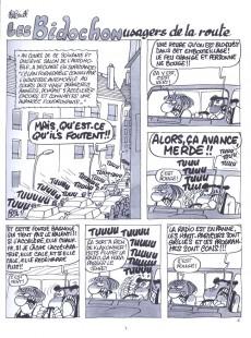 Extrait de Les bidochon -10- Les Bidochon usagers de la route