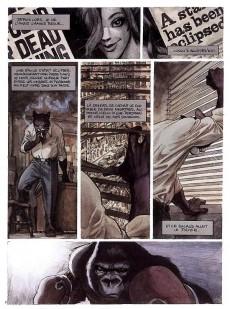 Extrait de Blacksad -1- Quelque part entre les ombres