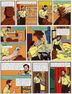 Extrait de Blake et Mortimer (Les Aventures de) -13ES- L'affaire Francis Blake