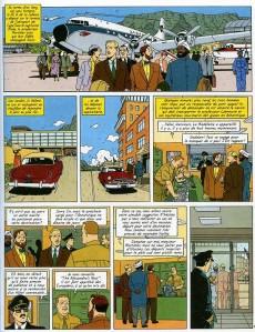 Extrait de Blake et Mortimer (Les Aventures de) -17- Les Sarcophages du 6e continent - Tome 2