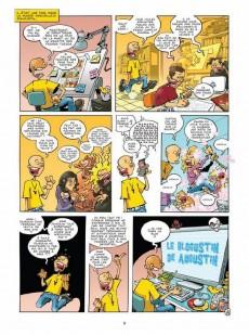 Extrait de Le blogustin de Augustin -1- Ceci n'est pas un ouvrage pour la jeunesse