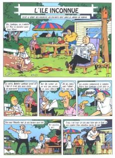 Extrait de Bob et Bobette (Publicitaire) -Ag1- L'île inconnue