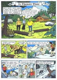 Extrait de Bob et Bobette (Publicitaire) -Ag2- Le Chamois blanc