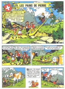 Extrait de Bob et Bobette (Publicitaire) -Ph6- Les Pains de pierre
