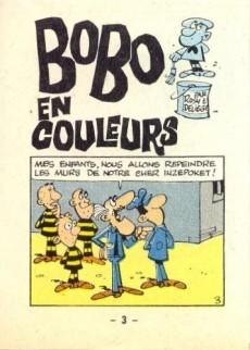 Extrait de Bobo -MR1431- Bobo en couleurs
