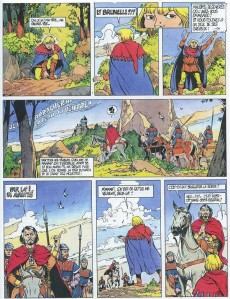 Extrait de Brunelle et Colin -3- La nuit de la bête