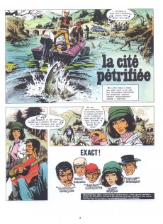Extrait de Bruno Brazil -4a1973- La cité pétrifiée