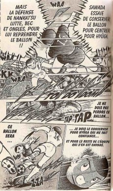 Extrait de Captain Tsubasa / Olive & Tom -10- Une contre-attaque flamboyante !!