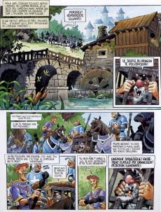 Extrait de Le chant d'Excalibur -3- La Griffe de Rome