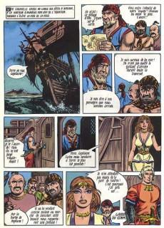 Extrait de Le chevalier Rouge -3- L'île du fond des temps