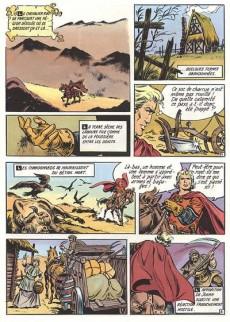 Extrait de Le chevalier Rouge -4- La dame des portes