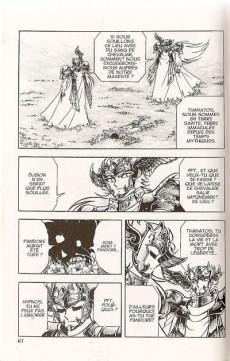 Extrait de Les chevaliers du Zodiaque (Kana) -27- Thanatos et Hypnos !