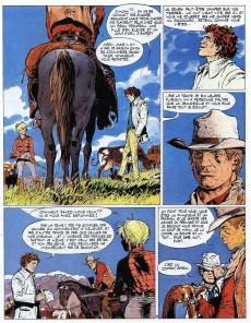 Extrait de Comanche -7- Le doigt du diable