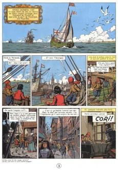 Extrait de Cori le Moussaillon -3- L'invincible Armada 2 - Le Dragon des Mers
