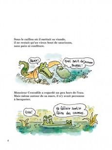 Extrait de Monsieur Crocodile a beaucoup faim