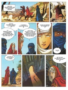 Extrait de Croisade - Nomade -1- Simoun Dja