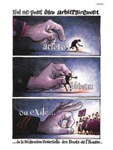 Extrait de L'illustration universelle des droits de l'homme - L'illustration universelle des droits de l'Homme