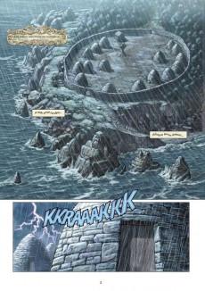 Extrait de Les druides -1- Le mystère des Oghams