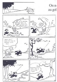 Extrait de Félix le chat (Intégrales) -INT3- 1924-1925